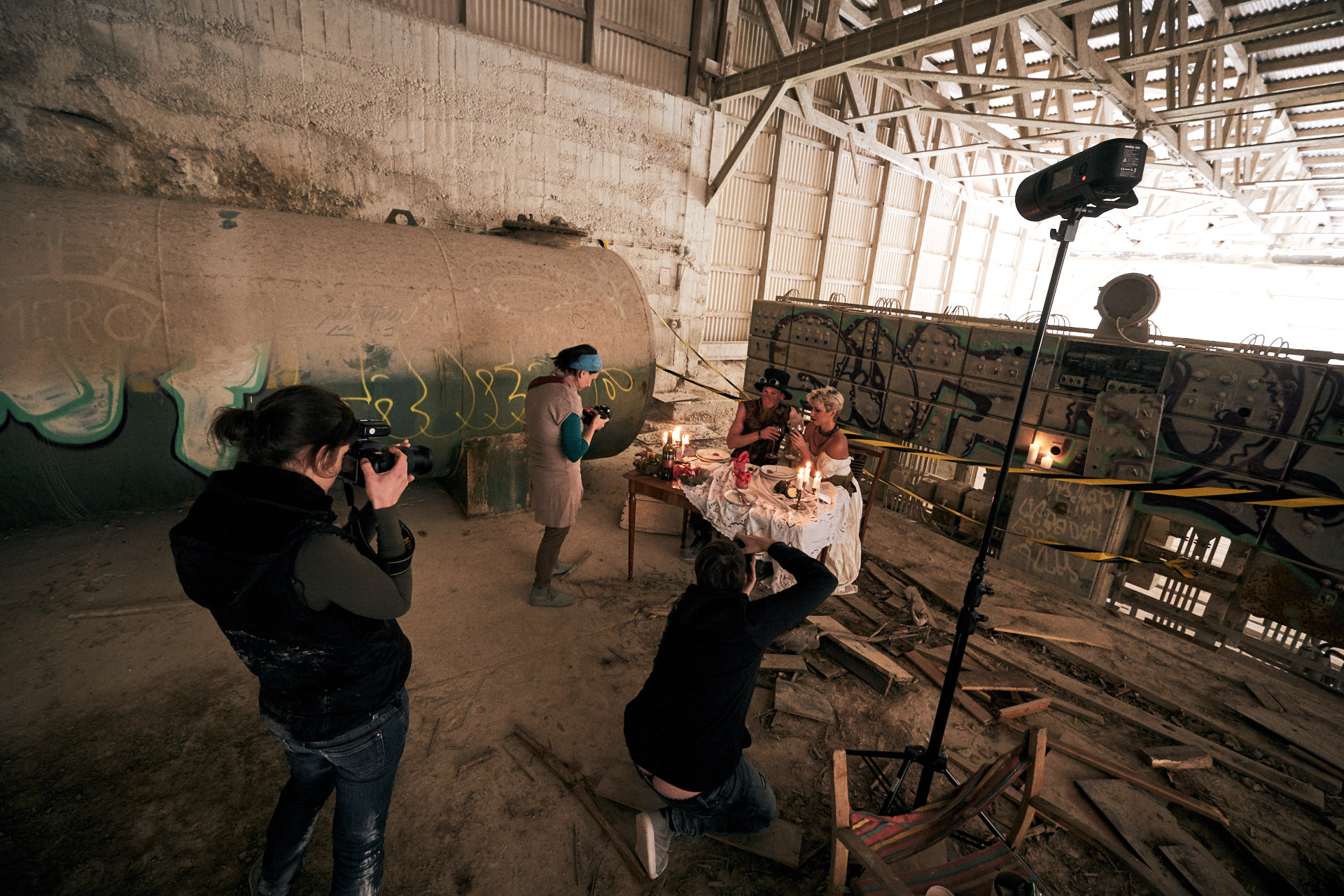 Lost Place Shooting Day - Natascha Zenig - Seelenschnitt