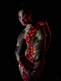 Body Projection (c) Dietmar Zirzow - Akt Workshop Wien Lightbox Academy